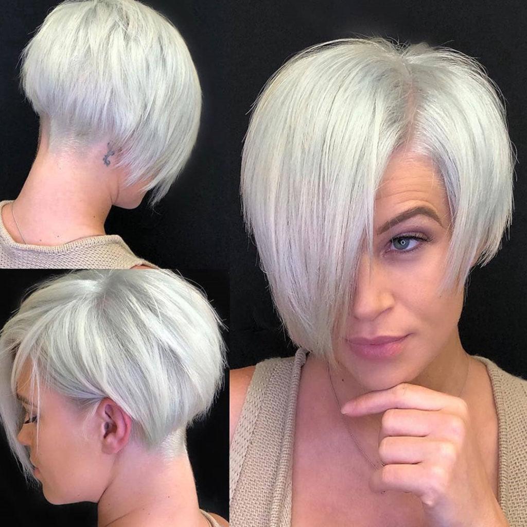 Wunderschone Kurz Haar Modelle Fur Damen 2018 Kurzhaarfrisuren