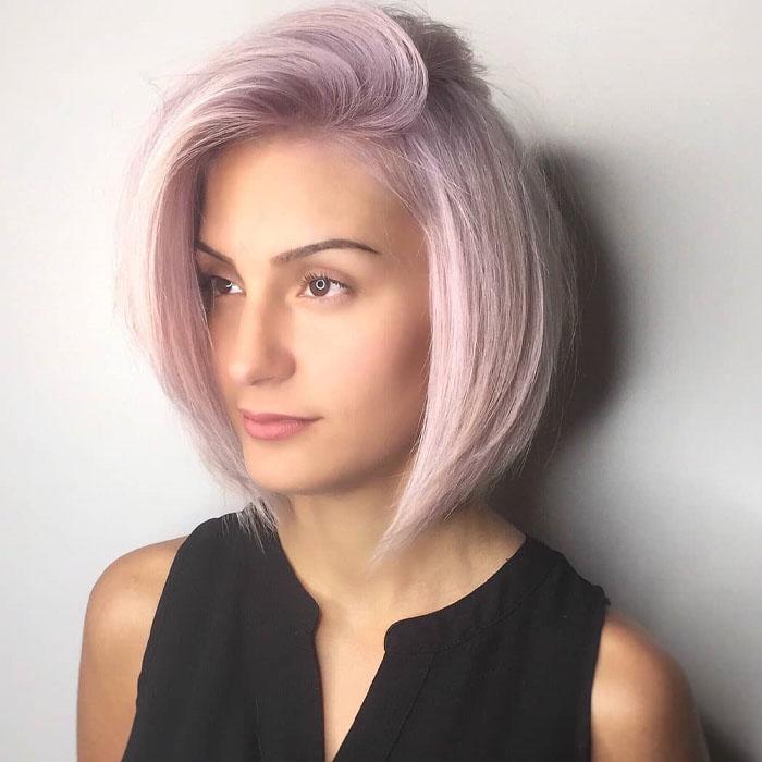 7-rosa-weiße-Mischung-bob-Haar