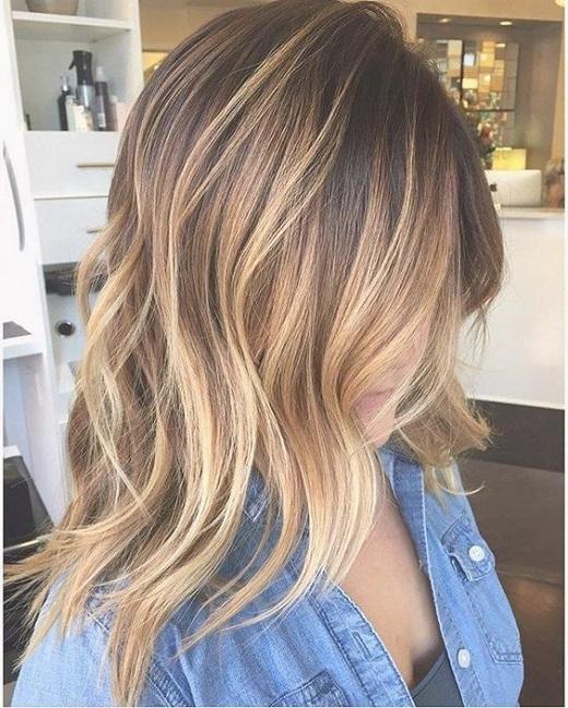 1.Balayage-Blonde-Frisur
